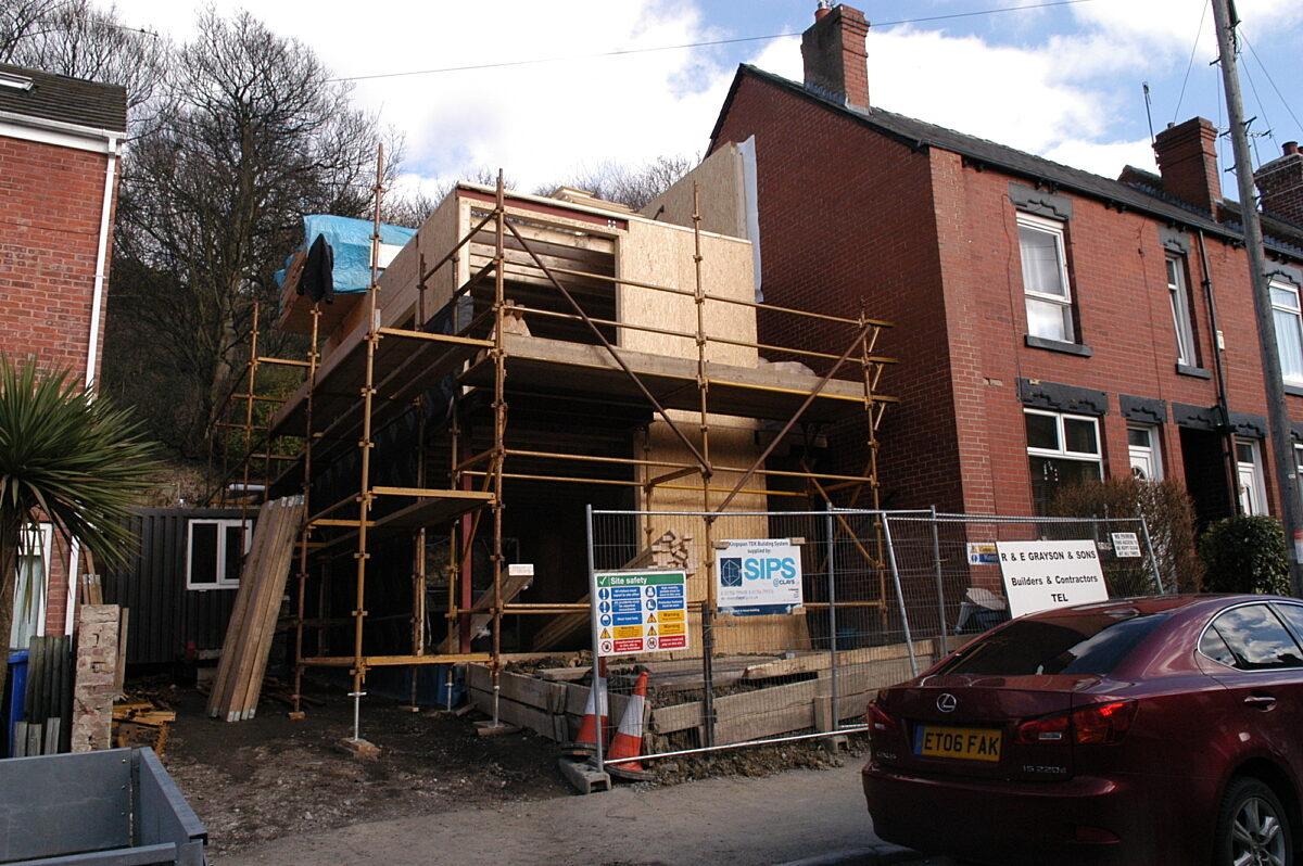 Photo: Award Winning SIPs House in Sheffield