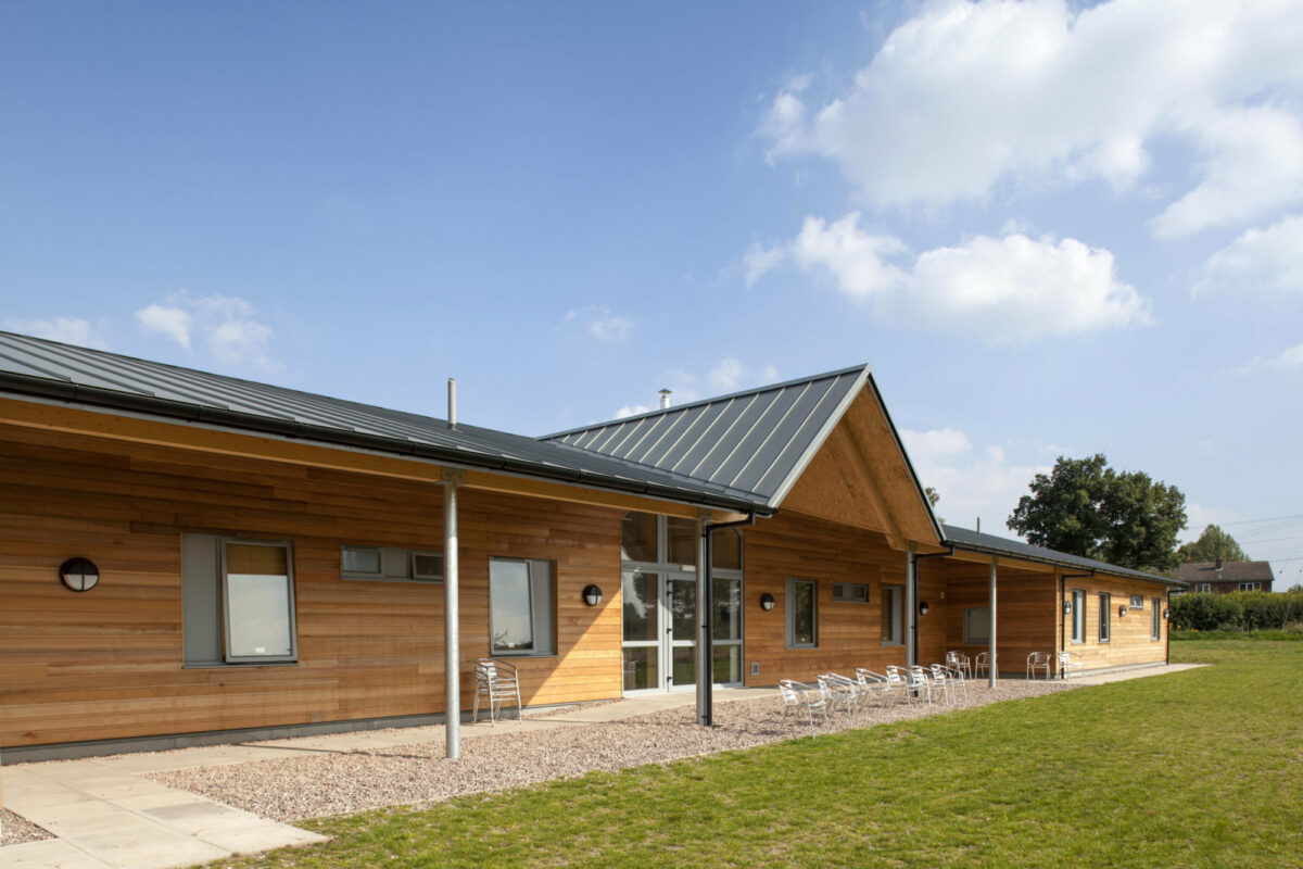 Photo: SIPs Activity Centre and Dormitory at Laches Wood