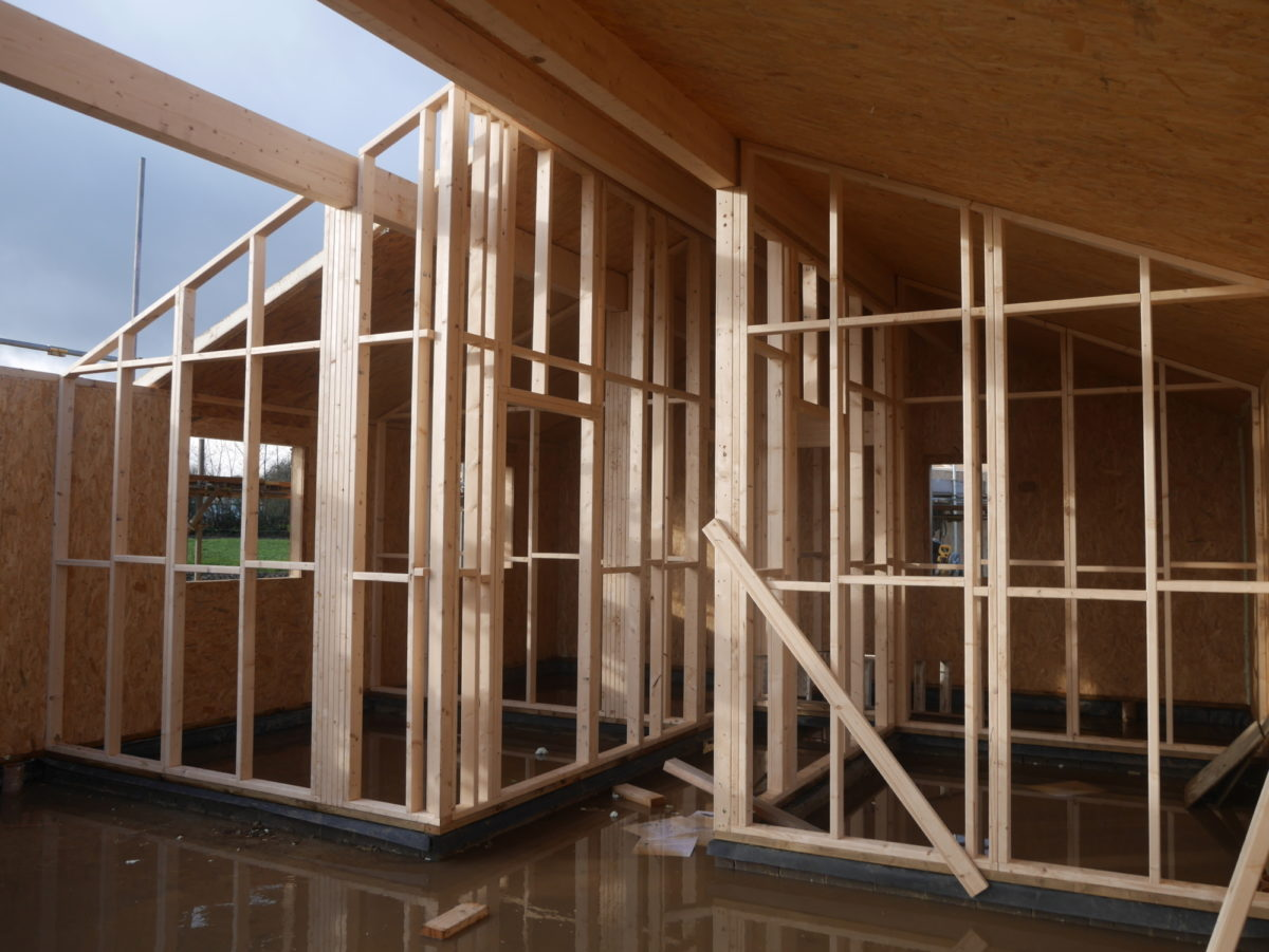 Photo: An Ecological SIPs Construction in the Yorkshire Countryside