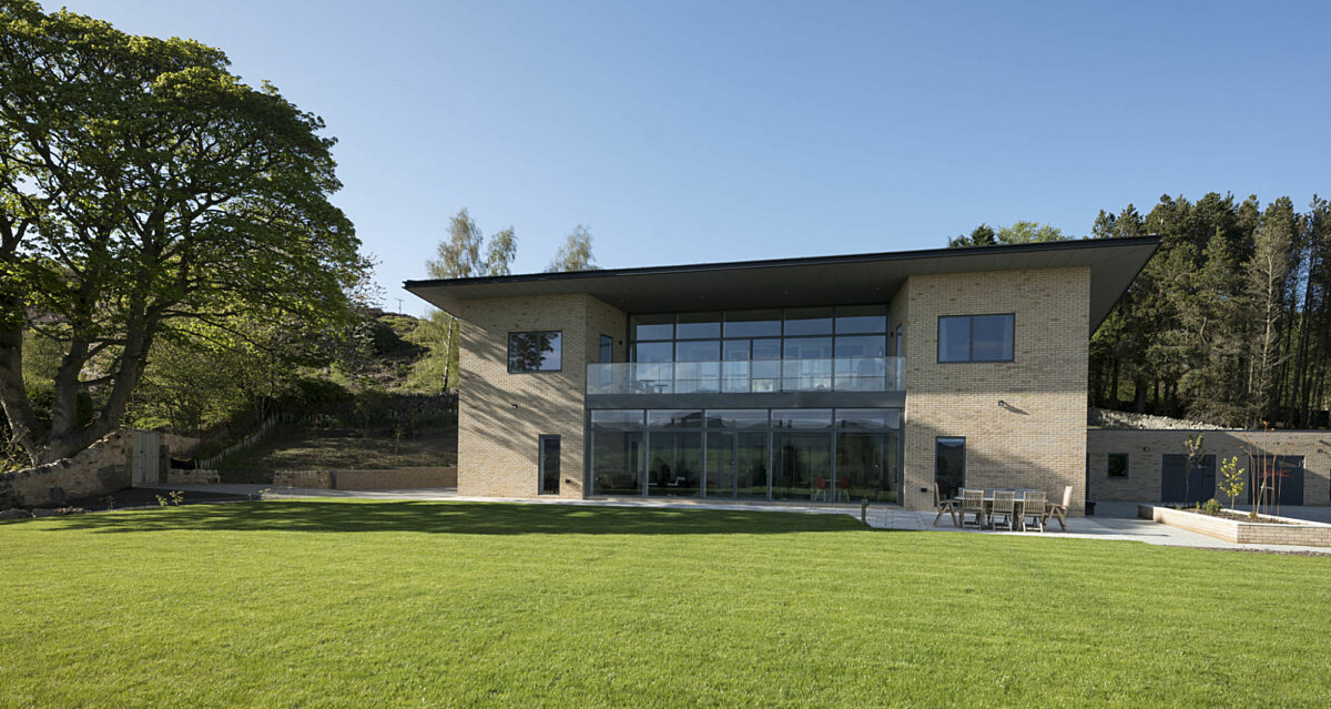 Photo: High Performance, SIPs Self Build in Northumberland