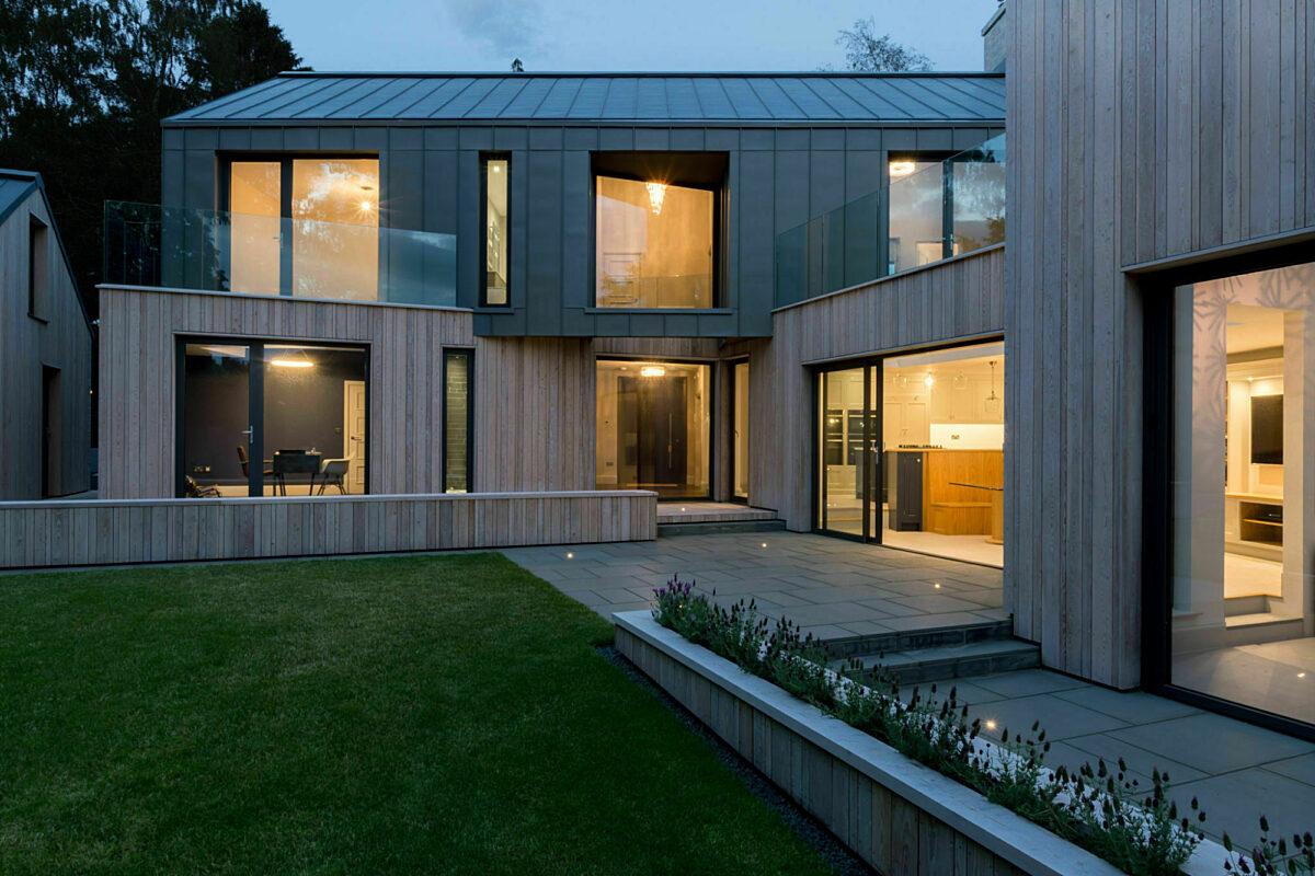 Photo: Contemporary SIPs House, Corbridge