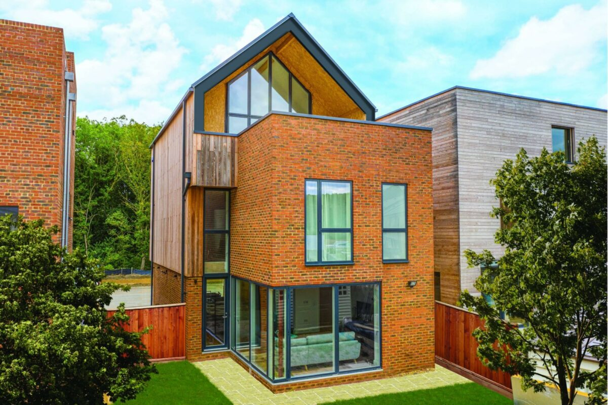 Photo: SIPs Self Build, Graven Hill