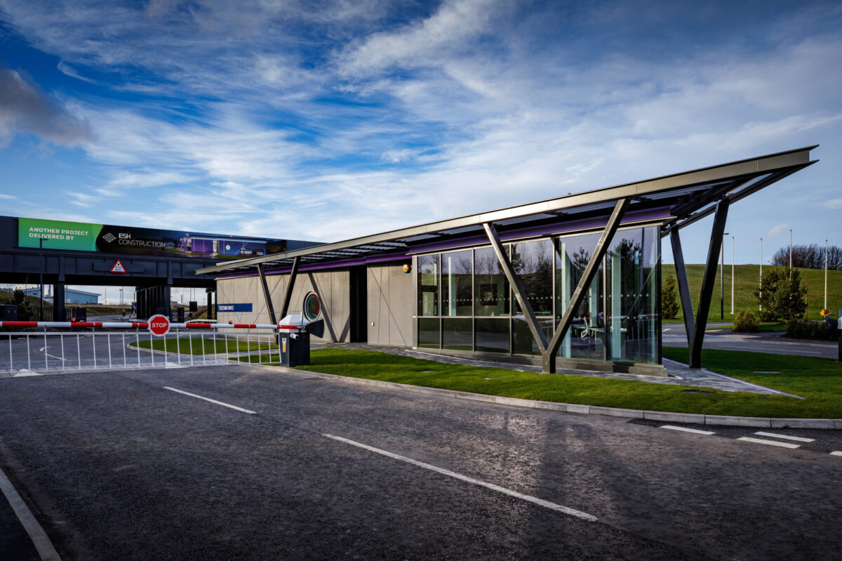 Photo: State-of-the-art SIPs Gatehouse at Teesside Freeport