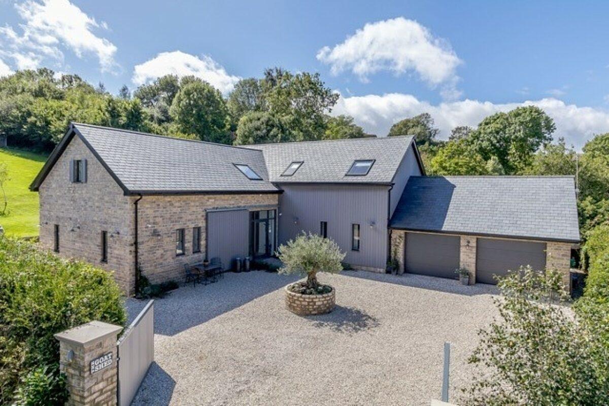 Photo: High Performance SIPs Home in Devon
