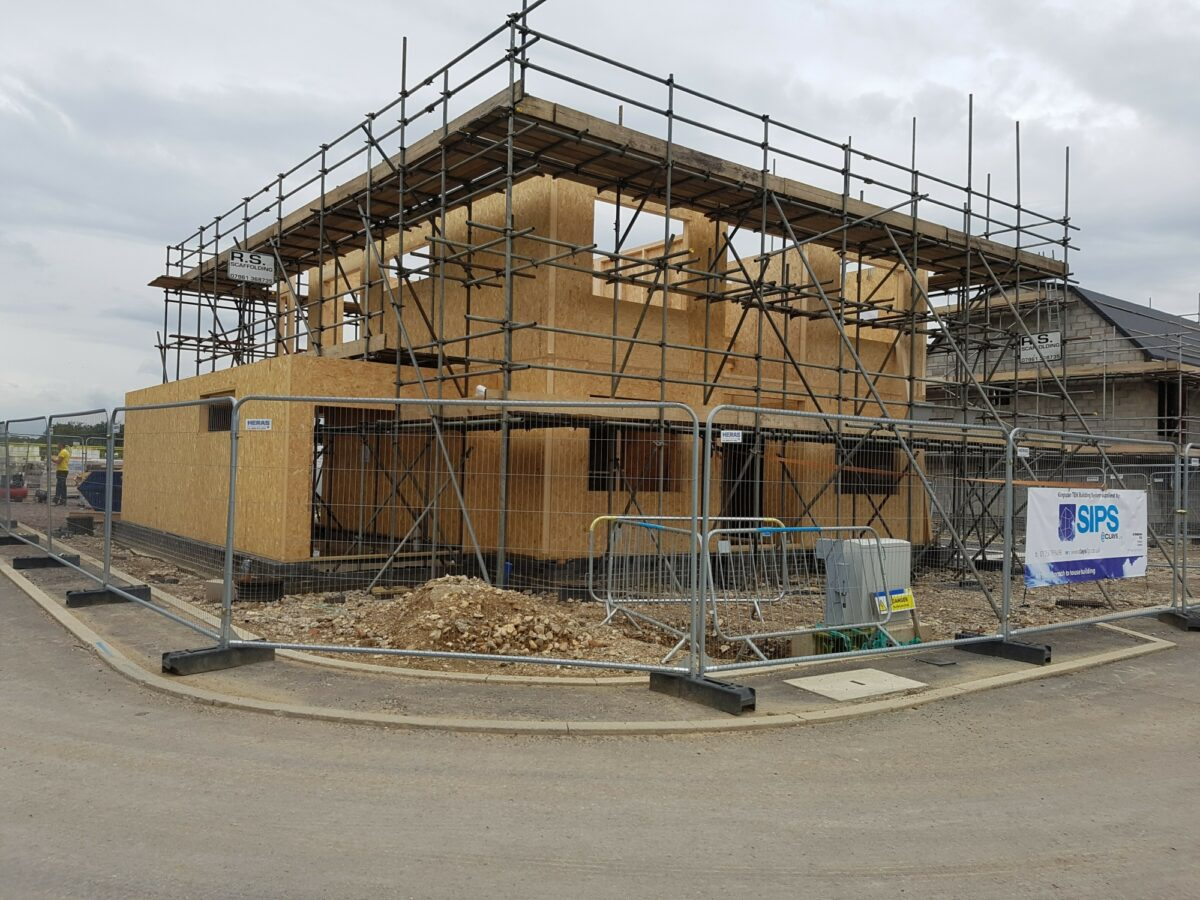Photo: SIPs Custom Build Home at Graven Hill, Bicester